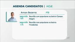 Confira a agenda dos candidatos a prefeito em Juazeiro do Norte