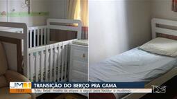 'Meu Bebê' de hoje (28) fala da transição das crianças do berço para cama
