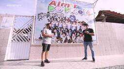 Brucce Cabral volta a Aracaju e realiza ação solidária na Creche Almir do Picolé