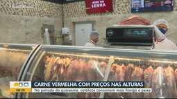 Carne já está com preços altos e deve ter ainda menos procura nos próximos dias