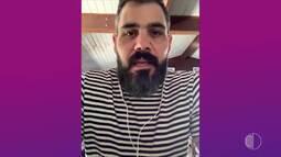 Bate-papo com Juliano Cazarré de 'Amor de Mãe'
