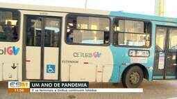 Mesmo com pandemia, terminais e ônibus continuam lotados na Grande Vitória