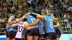 Melhores momentos: Argentina 3 x 0 Chile pelo Sul-Americano feminino de Vôlei