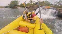 Rafting no complexo da fumaça em Jaciara a capital dos esportes radicais - Bloco 03
