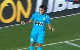 Os gols de Santos 2 x 0 The Strongest-BOL pela Taça Libertadores da América