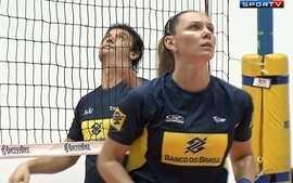 Seleção brasileira feminina de vôlei treina para o Pré-Olímpico em São Carlos