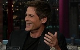 Rob Lowe conta histrias de Charlie Sheen
