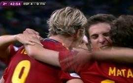Os gols de Espanha 4 x 0 Itlia pela final da Eurocopa 2012
