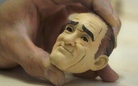 Stop motion: criação do boneco do Renato Aragão