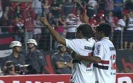 Os gols de So Paulo 3 x 0 Ponte Preta pela 18 rodada do Brasileiro 2012