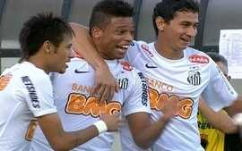 Os gols de Santos 3 x 2 Corinthians pela 18 rodada do Campeonato Brasileiro