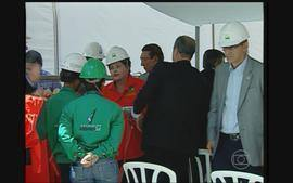 Dilma Rousseff participa de inaugurao de navio-petroleiro no Litoral Sul de PE