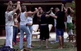 Big Brother Brasil 1: Chegada dos participantes