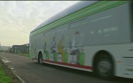 'Globo Notícia Europa' mostra o inovador Bio-Bus