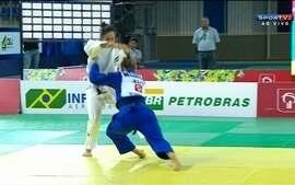 Mariana Silva vence Marilies Priesner pelo desafio internacional de judô