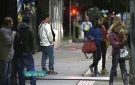Temperatura cai e surpreende os moradores de cidades do interior de SP