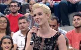Sophia Abrahão comenta novo visual e revela qual vai ser seu próximo trabalho na TV