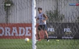 Corinthians fecha treinamento e mistério em relação a reestreia de Alexandre Pato continua