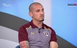 Maicon diz que não se sente culpado por eliminação do São Paulo na Libertadores