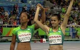 Veronica Hipolito é prata nos 100m T38