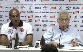 Vasco apresenta o técnico Cristóvão Borges