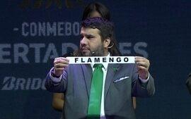 Flamengo cai no grupo 4 devido a regras do sorteio e encara São Lorenzo