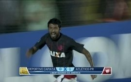 Com um gol de Lucho González, Atlético-PR vence e avança na Libertadores