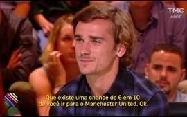 Griezmann admite possibilidade de ir para o Manchester United