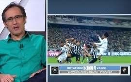 Comentaristas falam sobre vitória do Botafogo sobre o Vasco