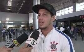 Rodriguinho fala sobre bom momento do Corinthians