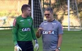 Com bastante otimismo, Rogério Micale comanda o primeiro treino no Atlético-MG