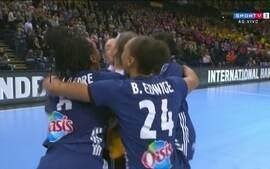 Melhores momentos: Suécia 22 x 24 França pelo Mundial de Handebol