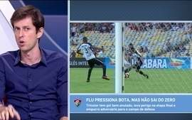 Abel Braga elogiou Ibañez e garantiu garoto como titular no jogo contra a Portuguesa