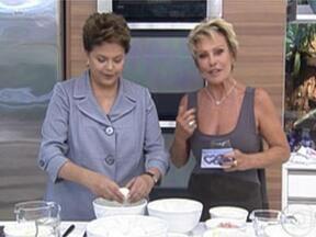 Omelete Caseiro Com Dilma Roussef - Foto de Mais Você na TV