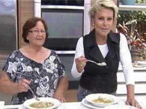 Sopa de Bola ou Candereli - Foto de Mais Você na TV
