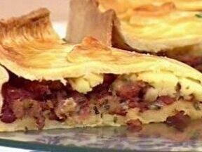 Torta de Linguiça - Foto de Mais Você na TV