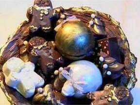 Natal: Cesta de Panetone com chocolate - Foto de Mais Você na TV