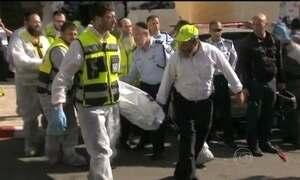 Atentado em sinagoga mata quatro israelenses em Jerusalém Oriental