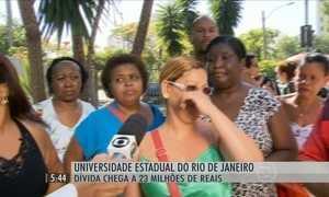 UERJ tem quase 30 mil alunos e dívidas que chegam a R$ 23 milhões
