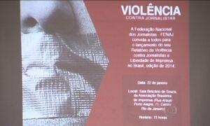 Relatório mostra dados da violência contra profissionais do jornalismo
