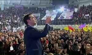 Candidato de extrema esquerda é o favorito das eleições na Grécia