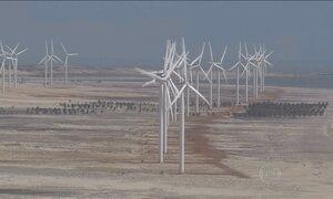 Energia eólica se expande, mas tem atrasos em linhas de transmissão