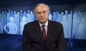 """""""Itamaraty só recebe 0,15% do orçamento federal"""", comenta Jabor"""