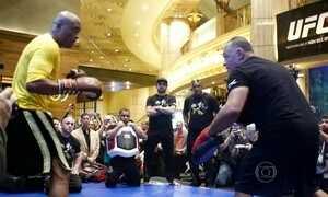 Anderson Silva se prepara para retornar ao UFC em Las Vegas