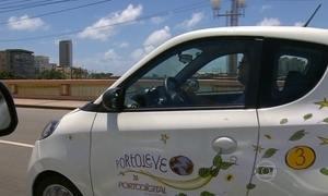 Carros elétricos compartilhados são testados no Recife
