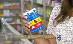 Anvisa proíbe fabricação de dois antibióticos genéricos