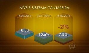 Nível de chuva no Cantareira supera média de fevereiro