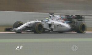 Equipes da Fórmula 1 se preparam para a estreia