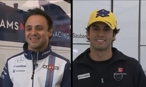 Felipe Massa e Felipe Nasr vão representar o Brasil na temporada da F1 2015