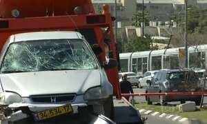 Ataque deixa seis pessoas feridas em Jerusalém